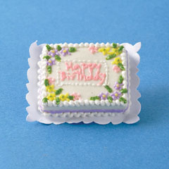 Happy Birthday Sheet Cake