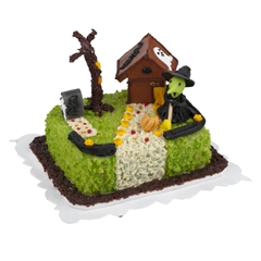 Witch Hide-Away Sheetcake