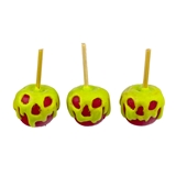 "Three ""Slimed"" Candy Apples"