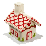 Christmas Heart Gingerbread House