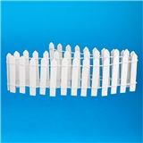 "2"" White Picket Fence (18"" Long)"