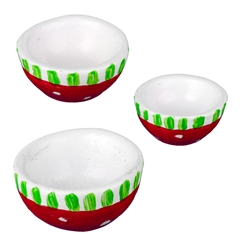 Christmas Nesting Bowl Set