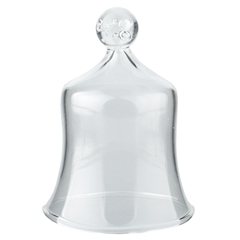 "2 1/2""H Glass Display Cloche"