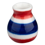 Red, White & Blue Vase