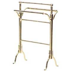 Brass Towel/Quilt Rack