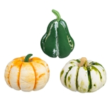 Sets of 3 Light Assorted Gourds