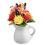 Fall Floral Pitcher