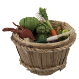 Veggies and Bushel Basket