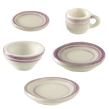 5-Pc. Purple Symmetry Place Setting