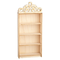 Pediment-Top Bookshelf Kit