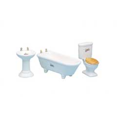 3-Pc Bath Set with Decals