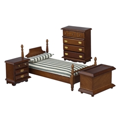 4-Pc. Mason Twin Bedroom Set