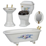 4-Pc. Ornate Bath Set