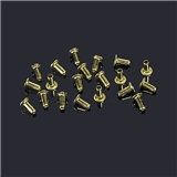 Large Hollow Brass Eyelets