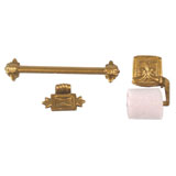 Ornate Bath Fixture Set