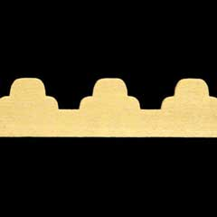 2-Pc. Three-Scalloped Gingerbread Trim by Houseworks