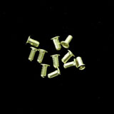 Small Hollow Brass Eyelets