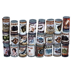 24-Pc. Vintage Grocery Can Set