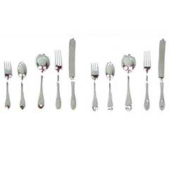 10-Pc. Silver Flatware Set