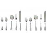 10-Pc Silver Flatware Set