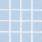 Powder Blue with White Grout Tile Sheet