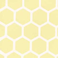 Yellow Large Hexagon Tile Sheet