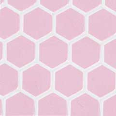 Pink Large Hexagon Tile Sheet