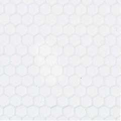 White Small Hexagon Tile Sheet