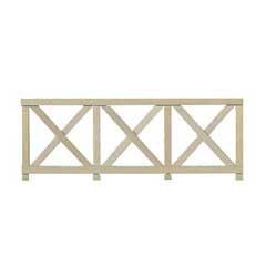 Crossbuck Fence