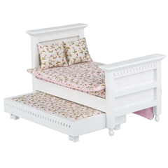 French Country Trundle Bed