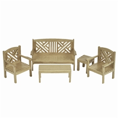 5-Pc Chippendale Garden Set