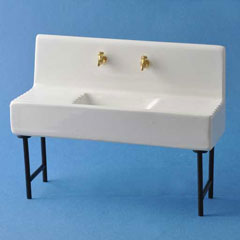 1920s Porcelain Sink
