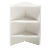 White Hansen Corner Shelf