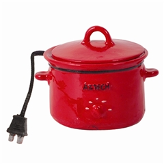 Red Slow Cooker