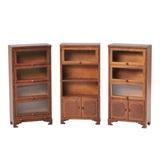3-Pc Barrister Bookcase