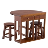 3-Pc Kitchen Island
