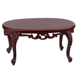 Mahogany Victorian Parlor Coffee Table