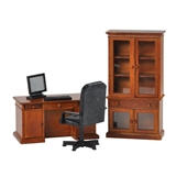 4-Pc Walnut Benjamin Desk Set