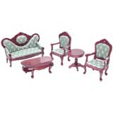 5-Pc 18th Century Parlor Set