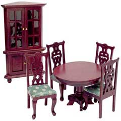 6-Pc 18th Century Dining Room Set