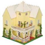 1/144 inch Scale Victorian Mansion Kit