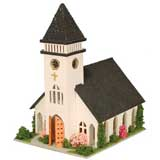 1/144 inch Scale Country Church Kit