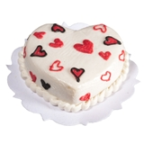 White Heart-of-my-Heart Cake