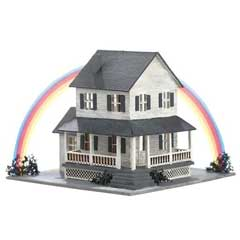 1/144 inch Scale Auntie Em's Farmhouse Kit