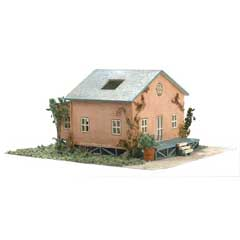 1/144 inch Scale Beach Cottage Kit