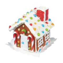 Gumdrop Roof Gingerbread House