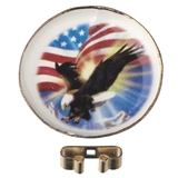 American Eagle Plate with Stand