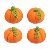 4 Teeny Pumpkins
