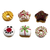 Six Christmas Donuts and Pastries