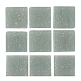Gray Glass Mosaic Tile Sheet